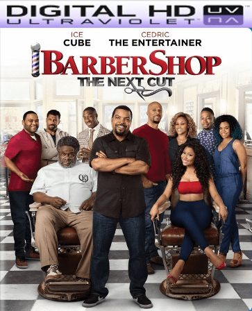 Barbershop: The Next Cut HD Digital Ultraviolet UV Code