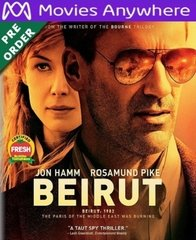 Beirut  HD UV or iTunes Code via MA    (PRE-ORDER WILL EMAIL ON OR BEFORE BLU-RAY RELEASE DATE)