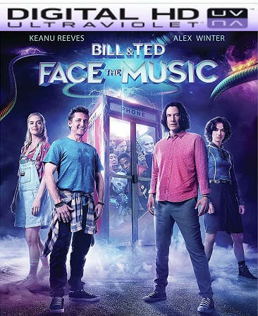 Bill & Ted Face the Music HD UV Vudu Code