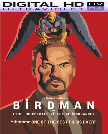 Birdman HD Digital Ultraviolet UV Code