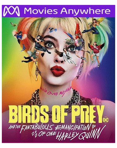 Birds of Prey HD Vudu Ports To Movies Anywhere & iTunes