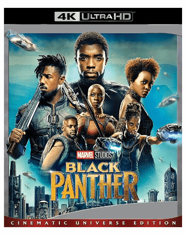 Black Panther 4K UHD Blu-ray
