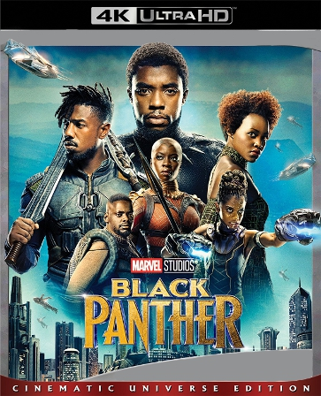 Black Panther 4K Vudu or iTunes Code via MA