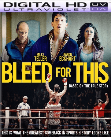 Bleed for This HD Digital Ultraviolet UV Code