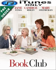 Book Club HD iTunes Code (PRE-ORDER WILL EMAIL ON OR BEFORE BLU-RAY RELEASE DATE)