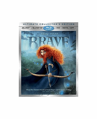 Brave 3D + Blu-ray + DVD + Digital Copy