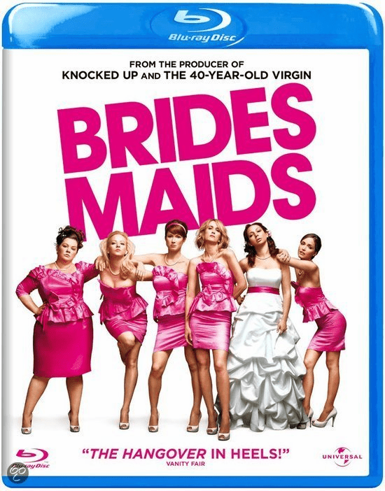 Bridesmaids Blu-ray Movie