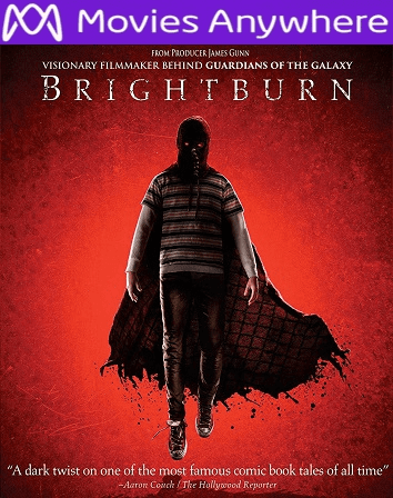 Brightburn HD Vudu or iTunes Code via MA