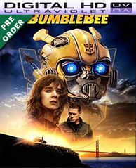 BumbleBee HD VUDU UV Code (PRE-ORDER WILL EMAIL ON OR BEFORE BLU RAY RELEASE)