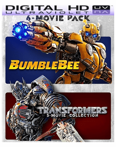 Bumblebee & Transformers Ultimate 6-Movie Collection HD Vudu (InstaWatch)