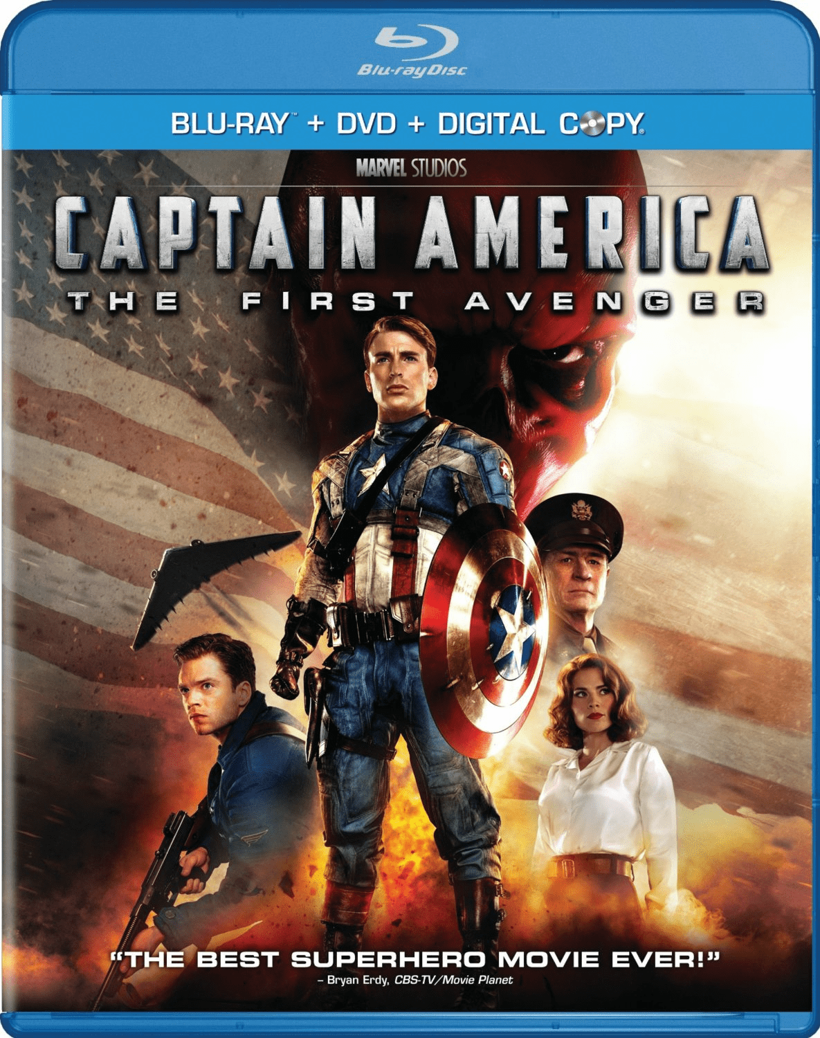 Captain America The First Avenger Blu-ray + DVD + Digital Copy