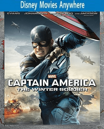 Captain America The Winter Soldier HD DMA Code FULL Vudu or iTunes