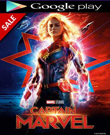 Captain Marvel HD GOOGLE PLAY Code