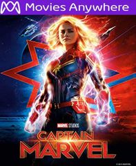 Captain Marvel HD Vudu or iTunes Code via MA