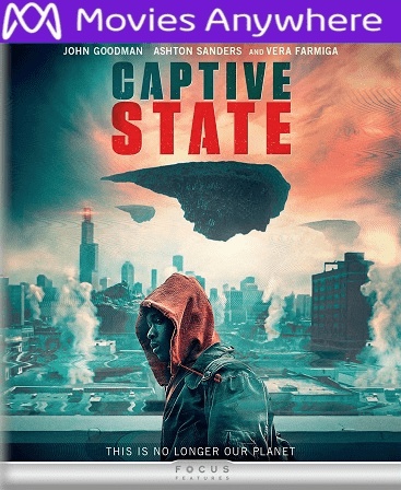 Captive State HD Vudu or iTunes Code via MA