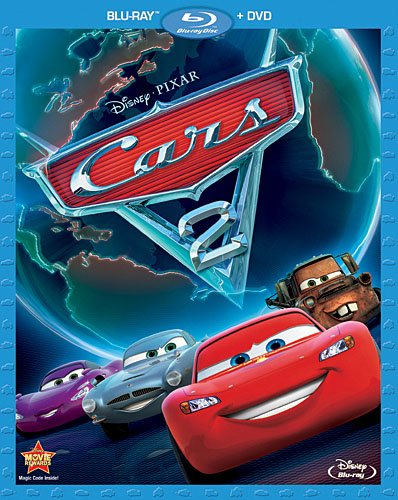 Cars 2 Blu-ray + DVD Combo