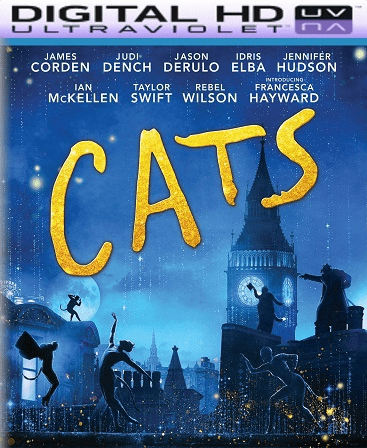 Cats (2019) HD Vudu Ports To Movies Anywhere & iTunes (Insta Watch)