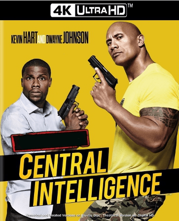 Central Intelligence 4K UHD Ultraviolet UV Code