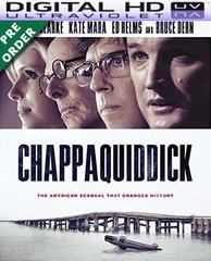 Chappaquiddick HD UV Code     (PRE-ORDER WILL EMAIL ON OR BEFORE BLU-RAY RELEASE DATE)