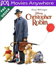 Christopher Robin HD UV or iTunes Code via MA (PRE-ORDER WILL EMAIL ON OR BEFORE BLU RAY RELEASE)