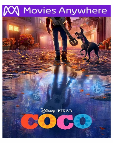 Coco HD Disney UV or iTunes Code