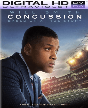 Concussion HD Digital Ultraviolet UV Code