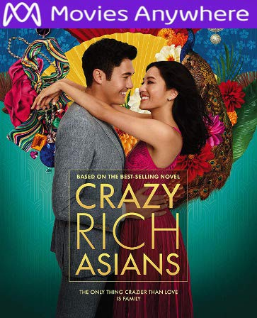Crazy Rich Asians HD UV or iTunes Code via MA