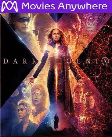 Dark Phoenix HD Vudu or iTunes Code via MA