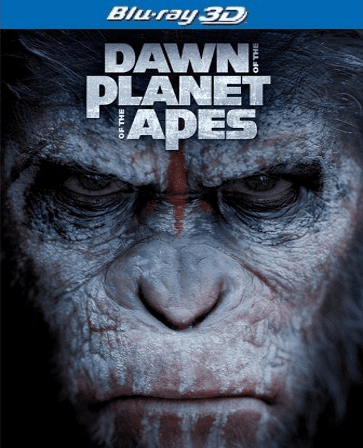Dawn of the Planet of the Apes  Blu-ray 3D Single Disc