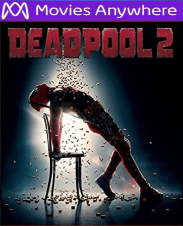 Deadpool 2 HD UV or iTunes Code via MA
