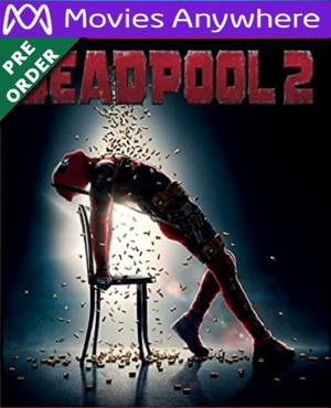 Deadpool 2 HD UV or iTunes Code via MA (PRE-ORDER WILL EMAIL ON OR BEFORE 8-21-18)