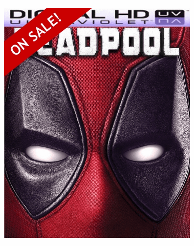 Deadpool HD Ultraviolet UV or iTUNES Code  (FLASH SALE WILL END WITHOUT NOTICE)