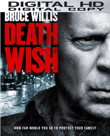 Death Wish 2018 HD UV VUDU Code