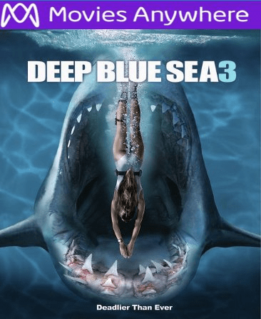 Deep Blue Sea 3 HD Vudu or iTunes Code via MA