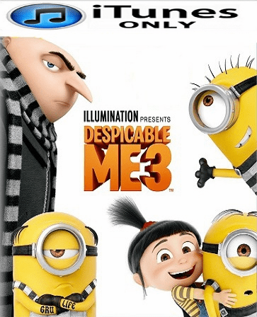 Despicable Me 3 HD iTunes Code