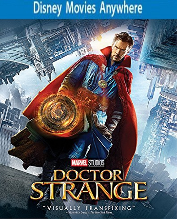 Doctor Strange HD DMA / DMR, Vudu or iTUNES 150 Points FULL CODE