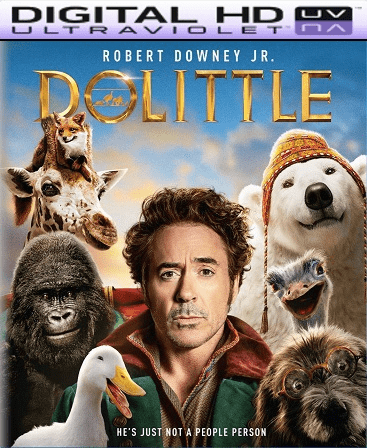 Dolittle HD Vudu Ports To Movies Anywhere & iTunes (Insta Watch)