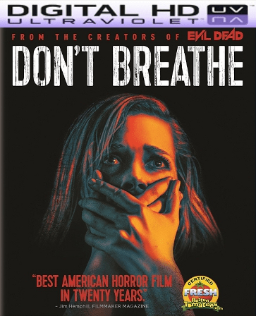 Don't Breathe HD Digital Ultraviolet UV Code