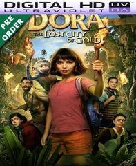 Dora And The Lost City Of Gold HD Vudu Code (PRE-ORDER WILL EMAIL ON 11-20-19)