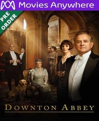 Downton Abbey HD Vudu or iTunes Code via MA (PRE-ORDER WILL EMAIL ESTIMATED Dec 17-20)
