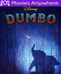 Dumbo 2019 HD Vudu or iTunes Code via MA