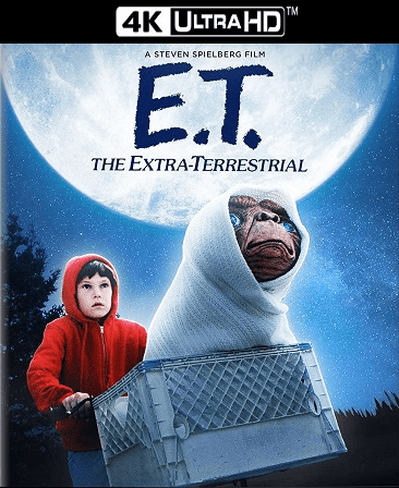 E.T. The Extra-Terrestrial 4K Vudu Ports To Movies Anywhere & iTunes (Insta Watch)