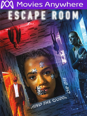Escape Room HD UV or iTunes Code via MA