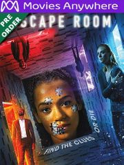 Escape Room HD UV or iTunes Code via MA (PRE-ORDER WILL EMAIL ON OR BEFORE BLU RAY RELEASE)