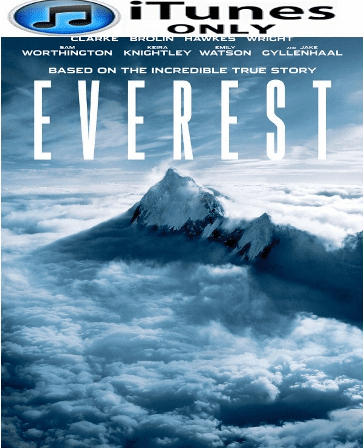 Everest HD iTunes Digital Copy Code