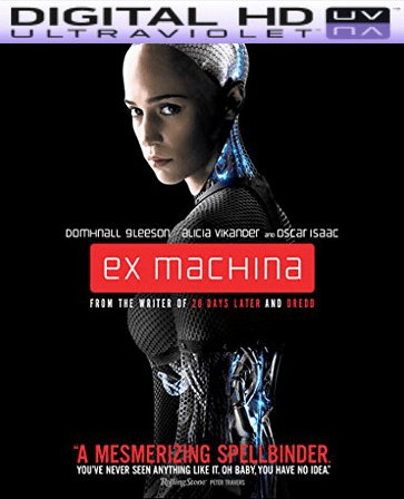 Ex Machina HD Digital Ultraviolet UV Code