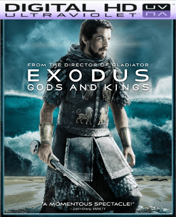 Exodus Gods and Kings HD Digital Ultraviolet UV Code