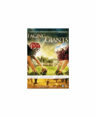 Facing The Giants DVD Movie