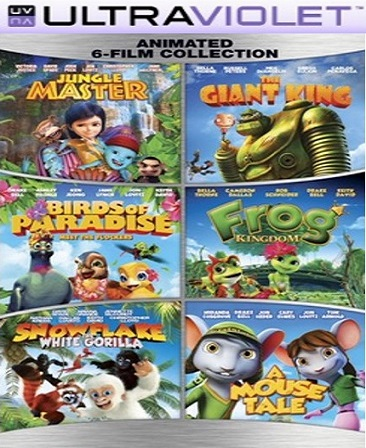 Family Animated 6-Film Collection SD Vudu Code (Insta Watch)
