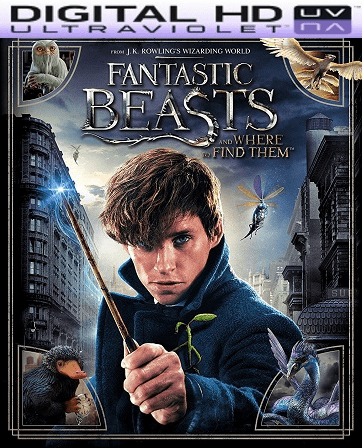 Fantastic Beasts and Where to Find Them HD Digital Ultraviolet UV Code